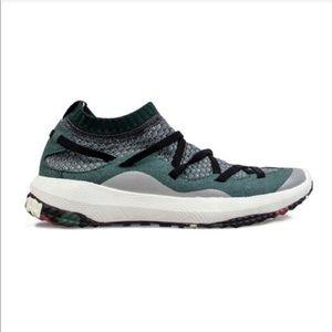 Teal & Grey Sneakers
